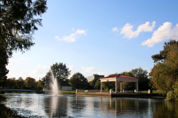 View of MacArthur Park